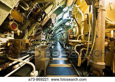 Banques de photographies int rieur de les redoutable for Interieur sous marin