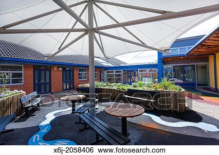 Large Umbrella Style Canopy To School