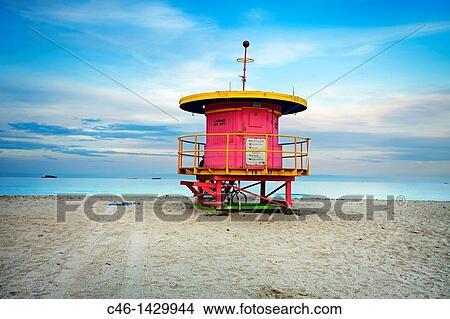 Miami Beach Florida Usa Picture C46
