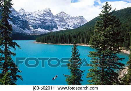 Moraine Lake Rocky Mountains Banff National Park Alberta