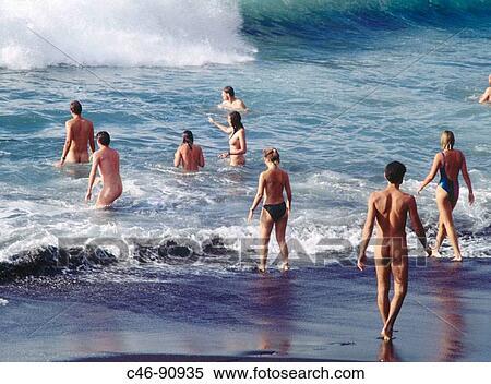 Canary islands + nudist