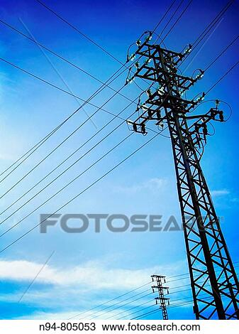 Brilliant Posts Network Of Electricity Supply In The Residential Area La Wiring Digital Resources Almabapapkbiperorg