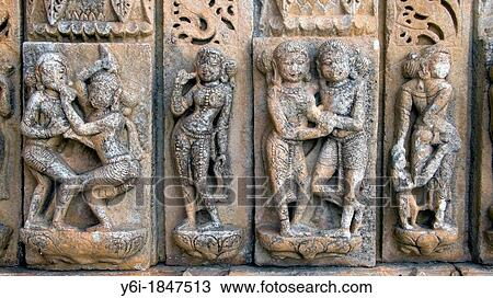 Saas bahu temple erotic sculptures and bas relief carvings nagda