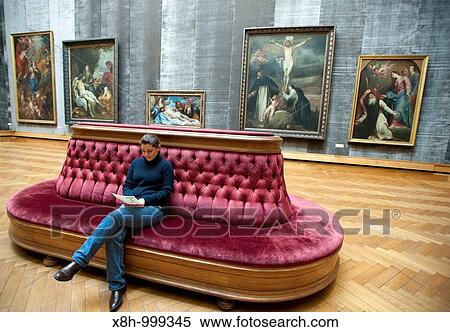 The Rubens Room At Royal Museum For Fine Arts In Antwerp Belgium Stock Photography X8h 999345 Fotosearch