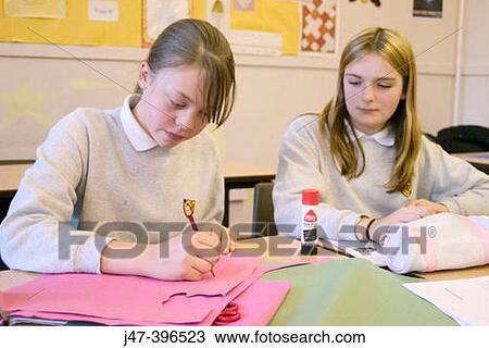 meeting girls in class