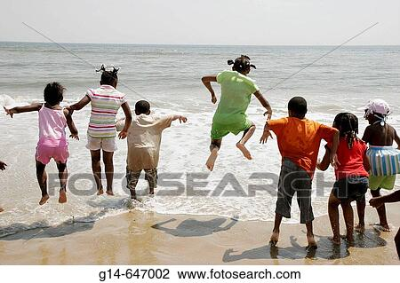 Stock Photo Virginia Beach Sandbridge Little Island District Park Atlantic Ocean