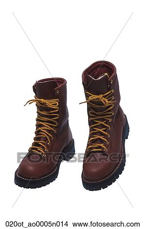 Stock Photo Of Leather Hiking Boots 020ot Ao0005n014 Search Stock