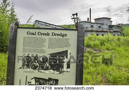 Coal Creek Dredge, along Coal Creek, Yukon Charley Rivers National  Preserve