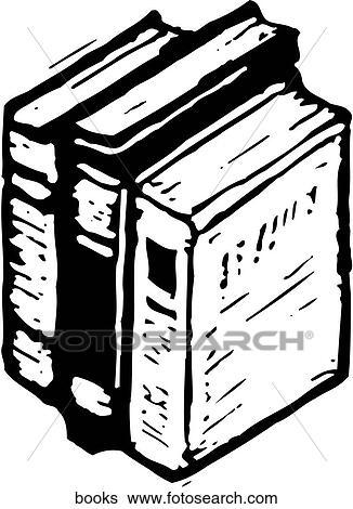 Clip Art Of Books Books