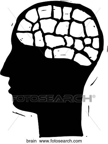clipart of brain brain search clip art illustration murals rh fotosearch com brainstorming clipart clipart of rainbow