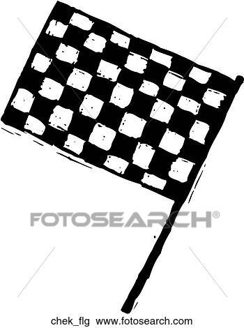 clipart of checkered flag chek flg search clip art illustration rh fotosearch com checkered flag clipart free checkered flag clipart free
