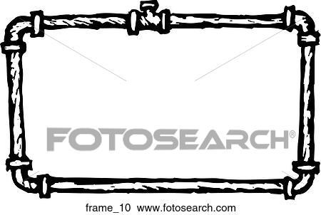 Clipart Of Frame 10 Frame10 Search Clip Art Illustration Murals