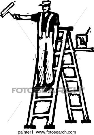 Clipart Of Painter 1 Painter1