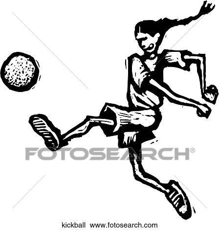 Clip Art Kickball Clipart kickball clip art illustrations 121 clipart eps vector kickball
