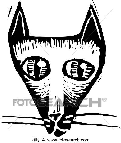 clipart of kitty 4 kitty 4 search clip art illustration murals
