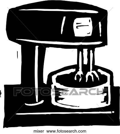 mixer clipart mixer fotosearch fotosearch