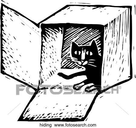 Verstecken Clipart   hiding   Fotosearch