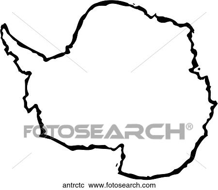 clipart of antarctica antrctc search clip art illustration murals rh fotosearch com antarctic animals clipart antarctica clipart black and white