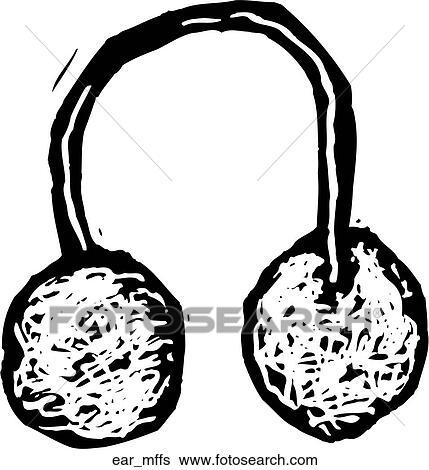Clipart oreille manchons ear mffs recherchez des - Clipart oreille ...