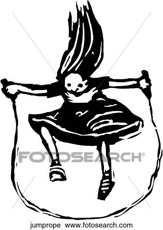 clipart of jump rope jumprope search clip art illustration murals