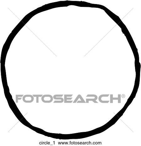 Clipart Of Circle 1 Circle1