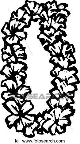 Clipart Of Lei Lei