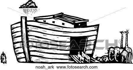 NOAH'S FAMILY digital clipart (color and black&white) by DSart   TpT