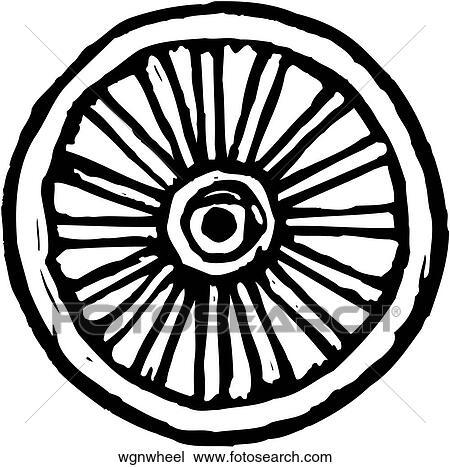 clipart of wagon wheel wgnwheel search clip art illustration rh fotosearch com clipart wagon wheel wagon wheel clipart free
