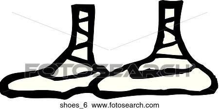 Chaussures 6 Clipart Shoes 6 Fotosearch