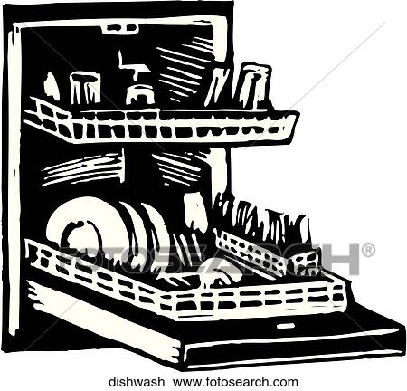 dishwasher clipart black and white. dishwasher clipart black and white k