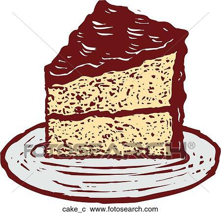 Clipart Kuchen Cake C Suche Clip Art Illustration Wandbilder