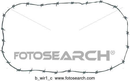 Clipart - widerhaken draht, 1 b_wir1_c - Suche Clip Art ...