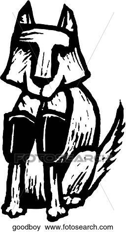 Good Boy Clip Art   goodboy   Fotosearch (256 x 470 Pixel)