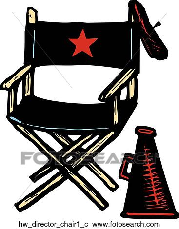 clipart of director chair 1 hw director chair1 c search clip art rh fotosearch com director clipart png director clipart