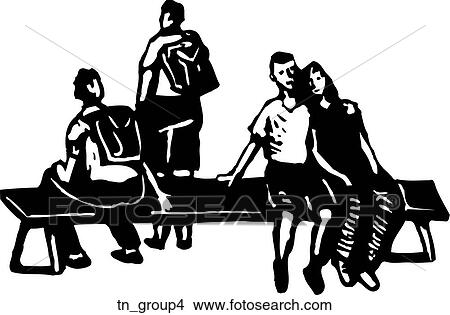 Clipart Of Group 4 Tngroup4