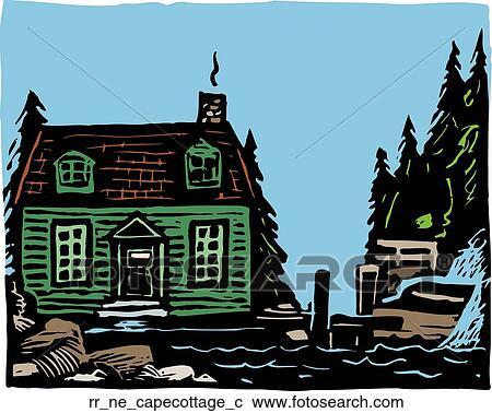 Clipart capo cottage rr ne capecottage c cerca for Disegni per la casa del merluzzo cape