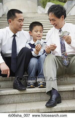 Daddy and asian lad