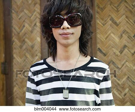 Asian style glasses