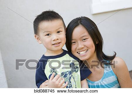 Chines Sister And Brother