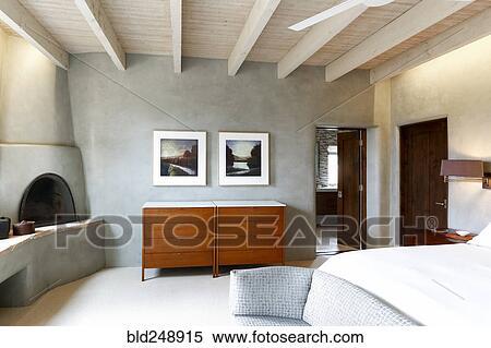 Luxe Paarse Slaapkamer : Stock afbeelding luxe slaapkamer bld zoek stock foto s