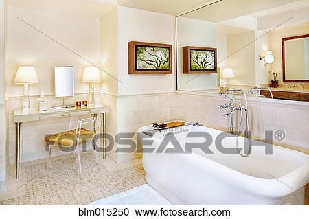 Elegante, cuarto de baño Colección de imágen