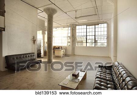 Sofas, In, Wohnzimmer, Von, Dachgeschoss