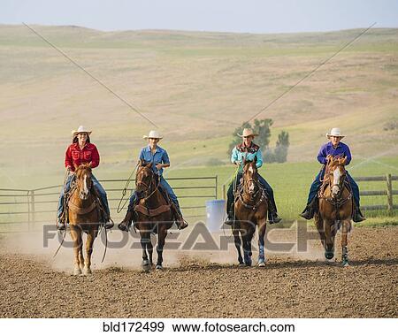 vaquera equitación