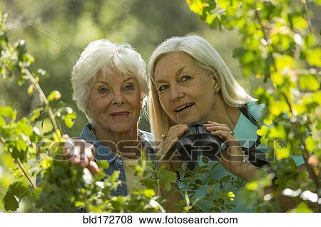 Older women outdoors