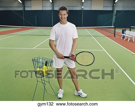 The tennis instructor