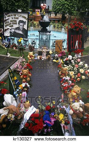 Memphis Tennessee Graceland Landgoed Bloemetjes En