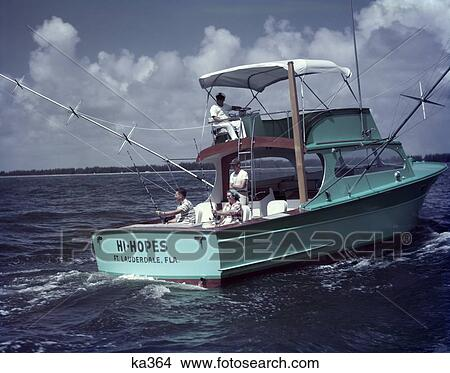bateau de peche 1950