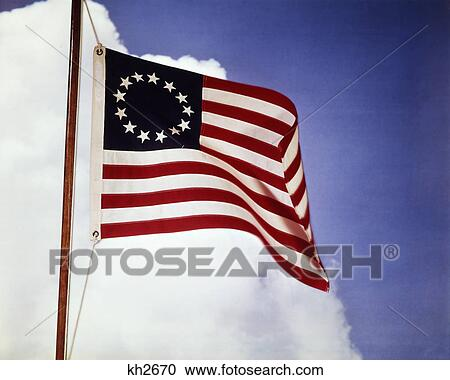 ebe3a555ee9d American flag with 13 stars representing the colonies colonial 1776  revolution