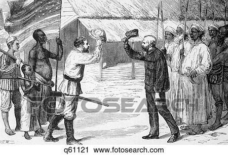 Doctor Livingstone, I Presume? Newspaper Correspondent Stanley Greets  Missionary Livingston 1871 Lake Tanganyika Afric