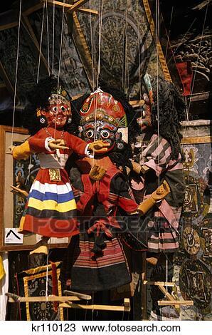 Stock Photo Of 1990s Nepalese Handicrafts Durbar Square Kathmandu
